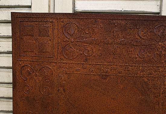 12 Quot Rusty Tin Checks Ceiling Tile Ceiling Tiles Home Decor