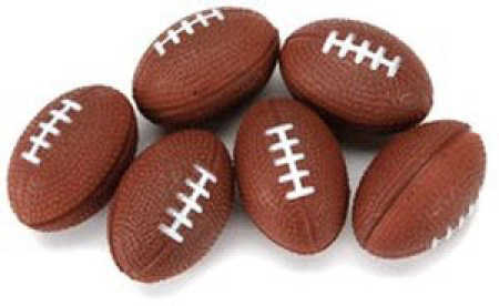 Miniature Foam Footballs Doll Accessories Doll Making