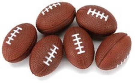 Miniature Foam Footballs Doll Accessories Doll Making