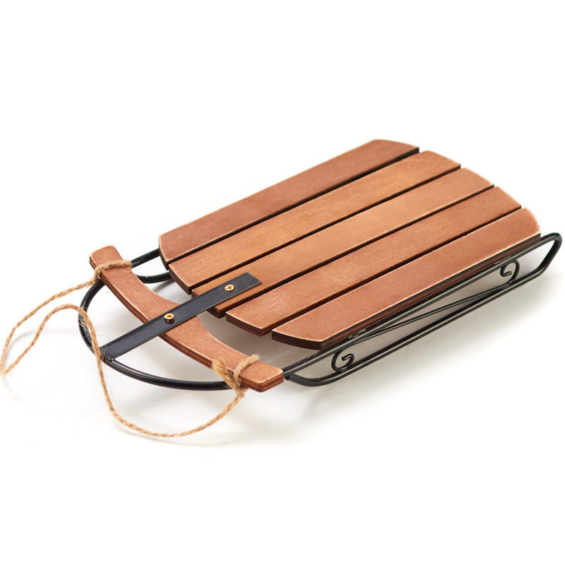 Old Fashioned Rustic Wood Sled