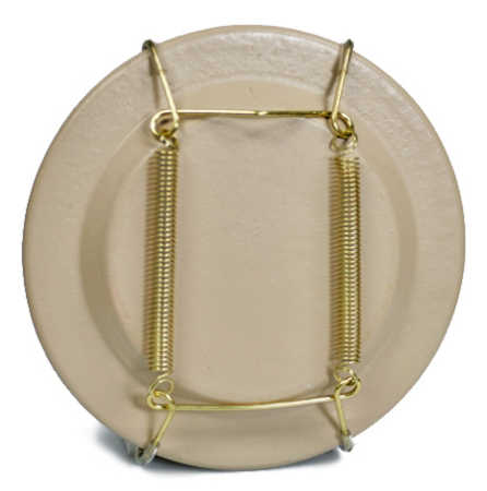 Click Here For A Larger View  sc 1 st  Factory Direct Craft & brass_collectible_wire_plate_hanger.jpg