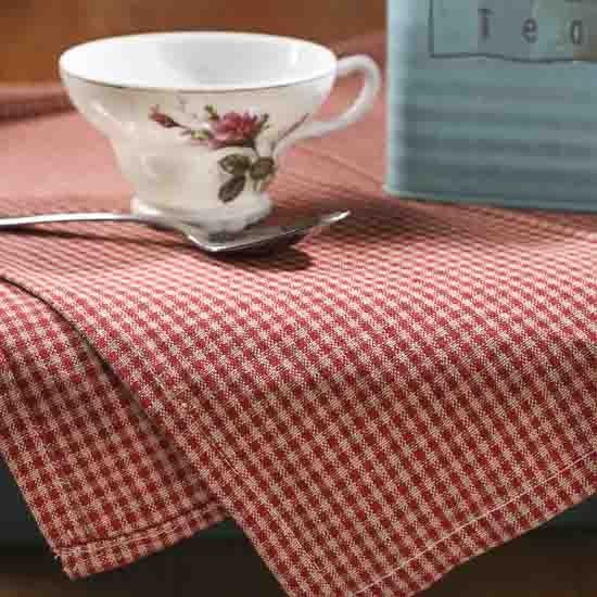 Country Grove Mini Check Dish Towel