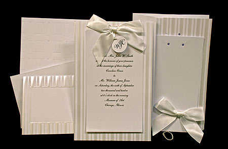 Click Here For A Larger Viewsimple Yet Elegant Wilton Wedding Invitation Kit 20 Sets