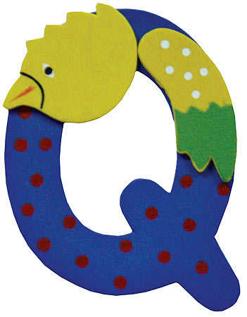 animal with letter q animal letter quot q quot scrapbooking craft supplies 4782