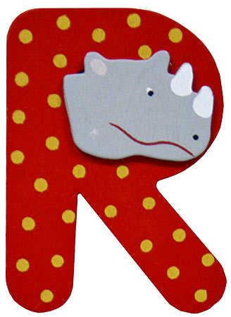 R Alphabet Letter Animal Letter