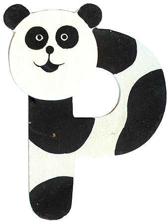 Animal Letter Quot P Quot Paper Crafting Craft Supplies
