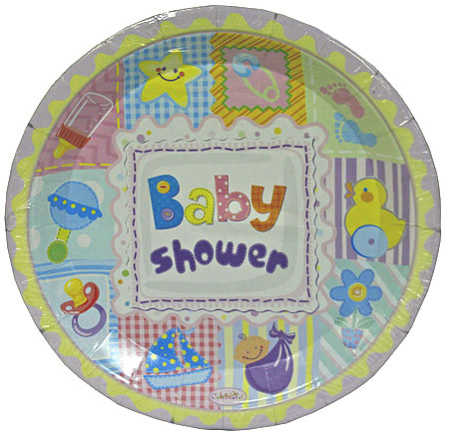 quilt baby shower paper plates baby shower tableware baby sho