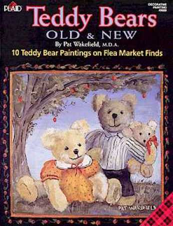 Teddy Bears Old And New Decorative Tole Painting Book