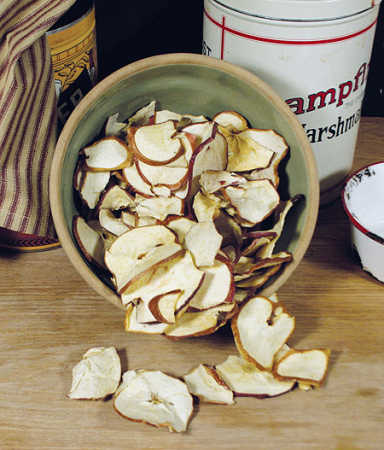 how to make dried apple slices