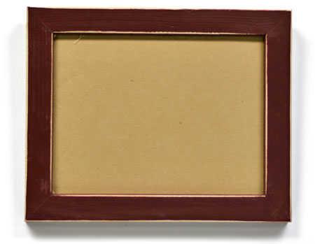 item mf3a primitive burgundy wooden frame - Wooden Photo Frames