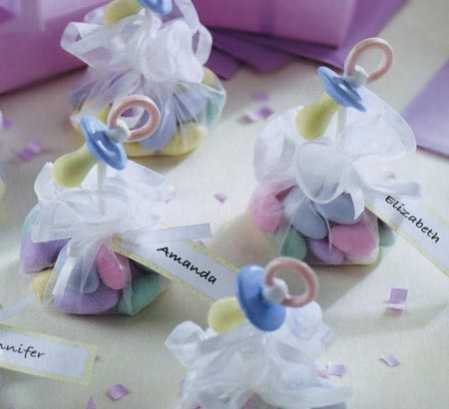 Sweet Things Pacifiers Baby Shower Favor Kit - Baby Shower Favors