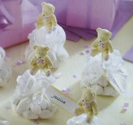 sweet things teddy bears baby shower favor kit baby shower