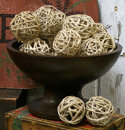 Natural Twig Grapevine Ball Vase Fillers Table Scatters Floral
