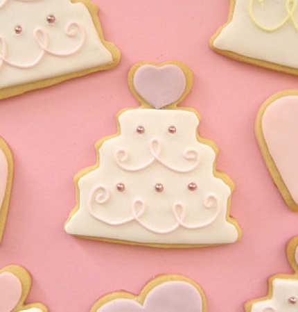 Metal Wedding Cake Cookie Cutter