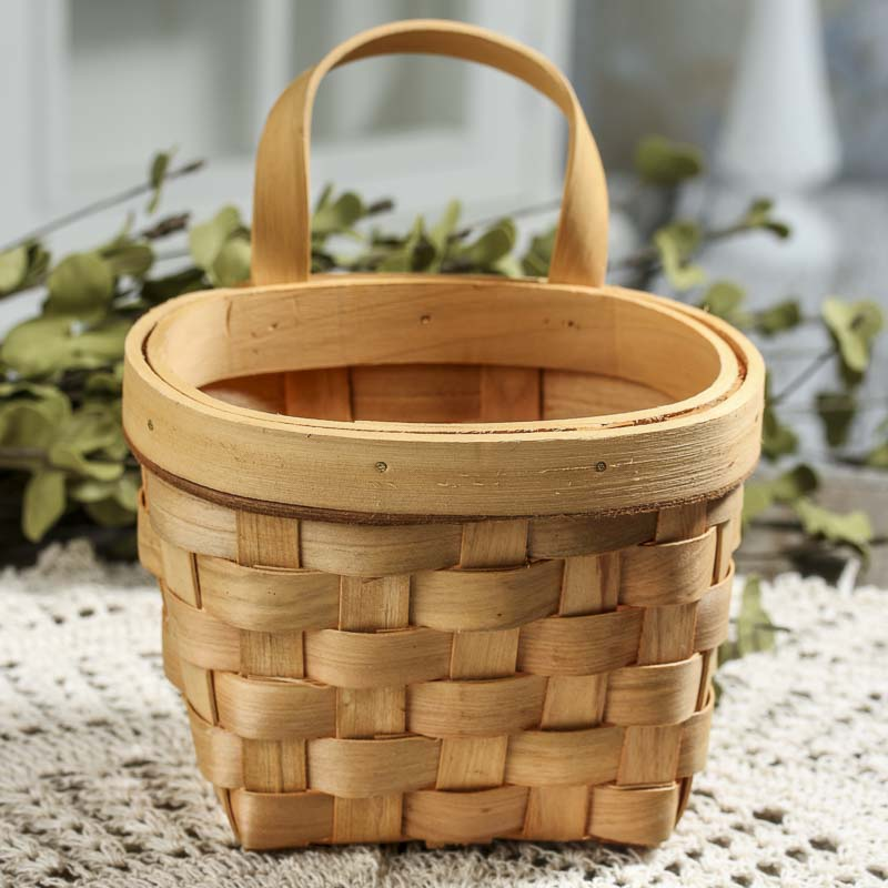 Decorative Wood Chips ~ Natural woodchip wall basket baskets buckets boxes