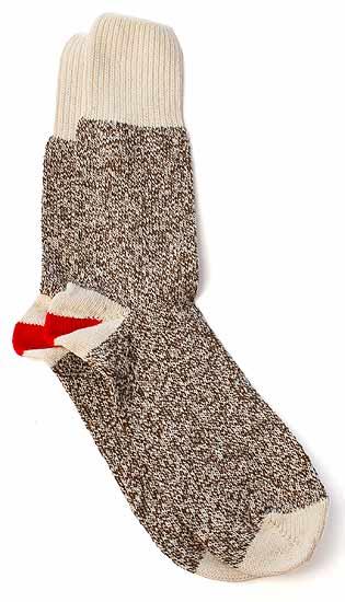 Small Original Rockford Red Heel Sock Monkey Socks - Doll ...