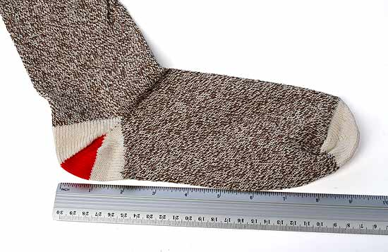 Medium Original Rockford Red Heel Sock Monkey Socks - Doll