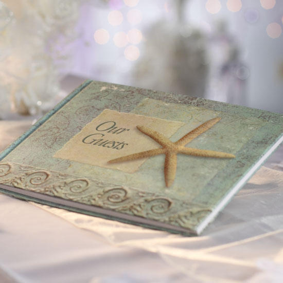seashore our guests book beach theme guest book