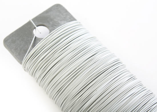 White paddle floral wire wire rope string basic for 22 gauge craft wire