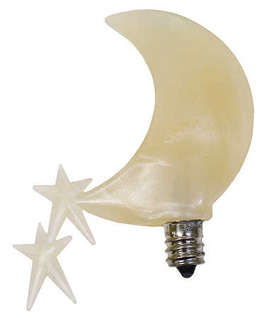 Celestial Moon Showers Silicone Bulb Light Bulbs