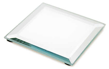 beveled square display mirrors mirrors party supplies party