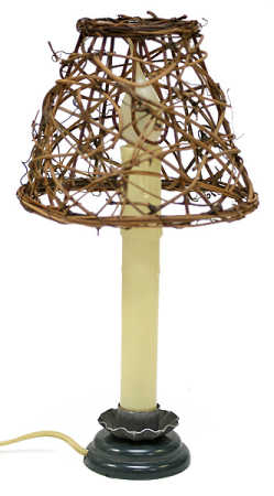 Natural Grapevine Twig Lampshade Decorative Lighting
