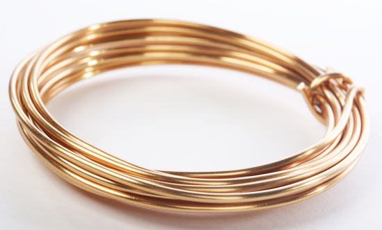 Gold Aluminum Craft Wire - Wire - Rope - String - Basic Craft ...