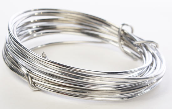 Silver Aluminum Craft Wire - Wire - Rope - String - Basic Craft ...