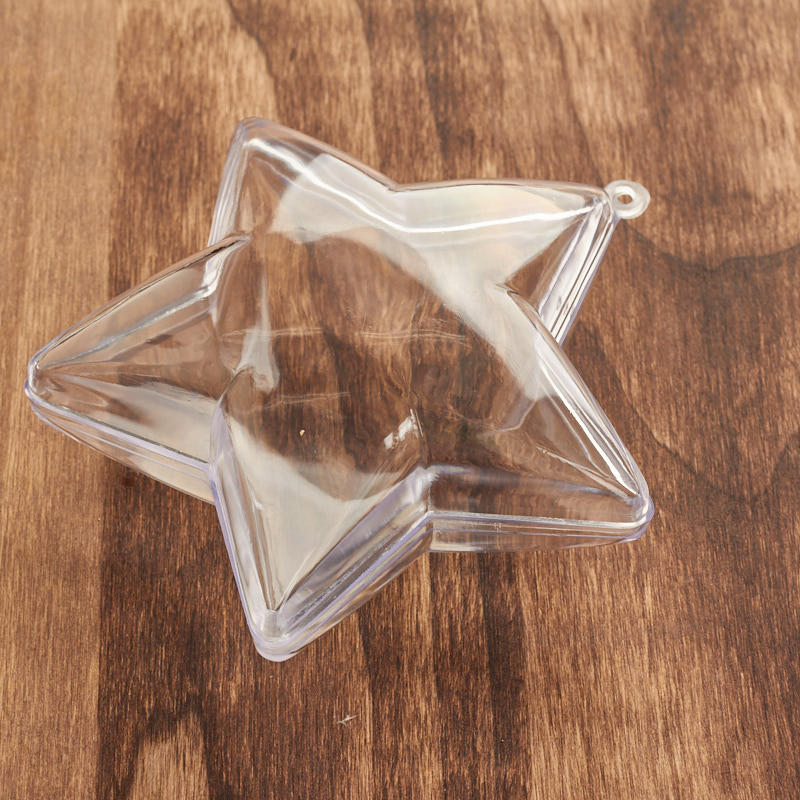 Acrylic Fillable Ornaments - Craft Supplies