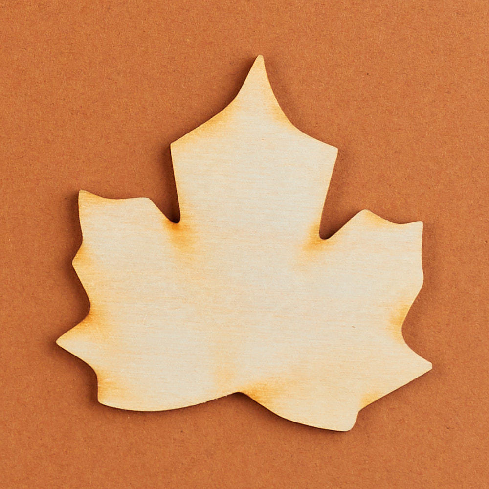 Unfinished wood maple leaf cutout wood cutouts wood for Templates for wood cutouts