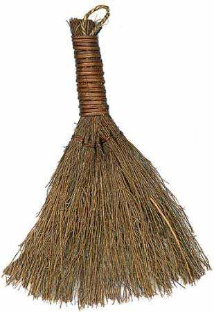 12 natural straw flat dried broom brooms shovels for Straw brooms for crafts