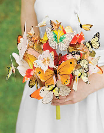 Butterfly Art Floral Picks
