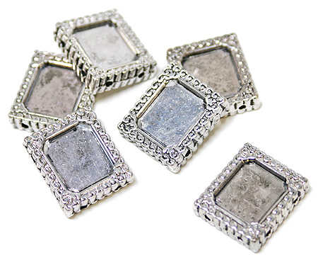 item 197512 mini antique silver photo frames - Mini Frame