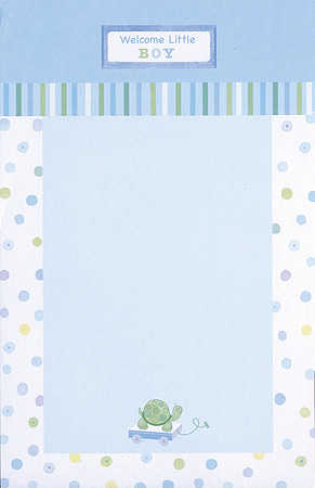 baby boy turtle baby shower invitation kit - it's a boy! theme, Baby shower invitations