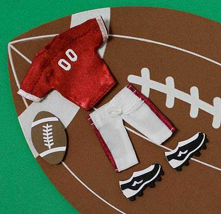 Football Craft Embellishments