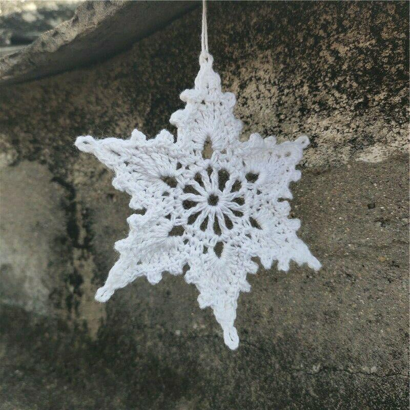 CROCHETED SNOWFLAKES ORNAMENTS ? CROCHET PATTERNS