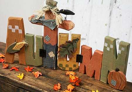15 1 4 Quot Painted Wooden Autumn Tabletop Sign Fall And