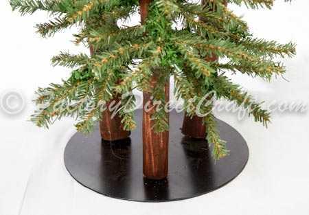 2 Foot 3 Foot Amp 4 Foot Alpine Skinny Tree Set Primitive