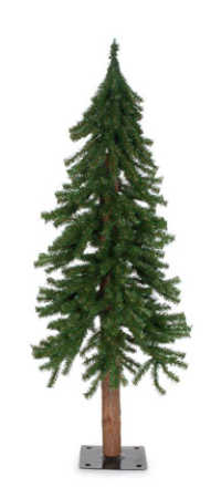 alpine artificial christmas tree