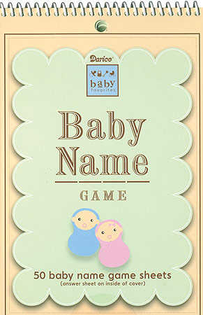 Baby Name Game - 50 Sheets