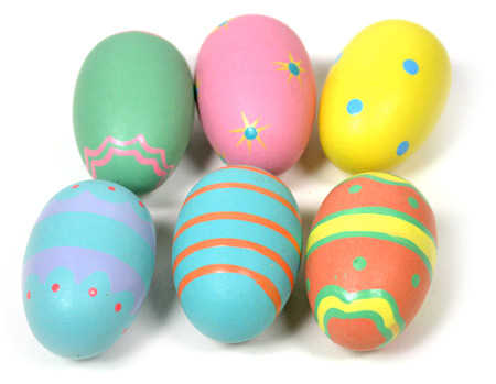 Painted wooden easter egg wooden eggs and fruit - Painted wooden easter eggs ...