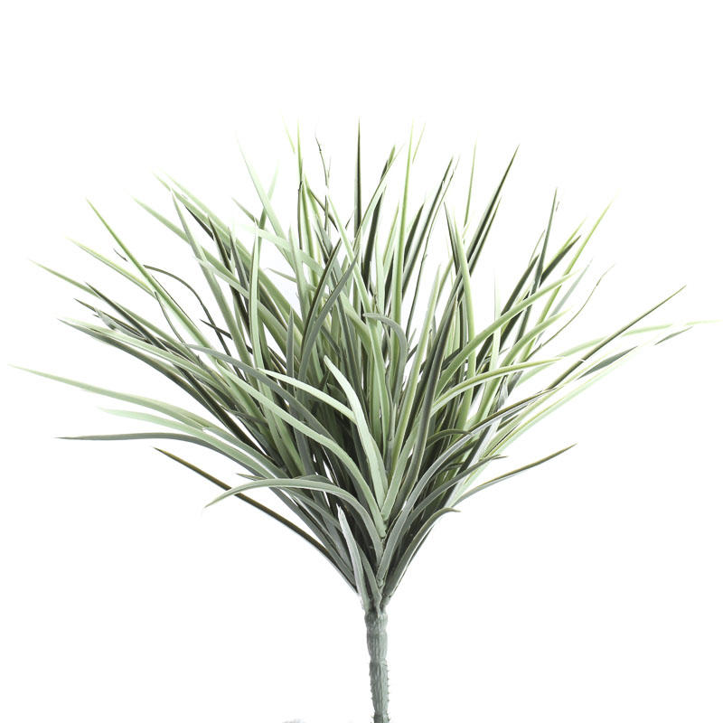 Artificial mountain grass bush artificial greenery for Faux grass for crafts