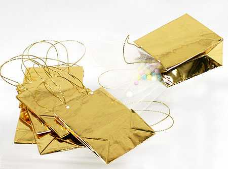 gold metallic favor bags bags basic craft supplies craft supplies