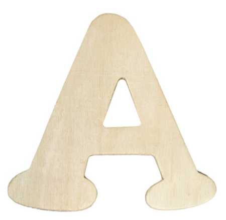 Unfinished wooden letter a word and letter cutouts for Small wooden letters for crafts
