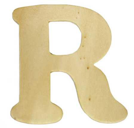 unfinished wood letters unfinished wooden letter quot r quot word and letter cutouts 25367
