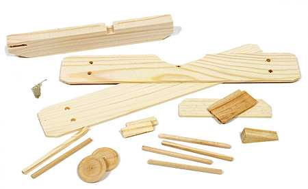Wood Model Biplane Craft Kit Activity Kits Kids Crafts Craft