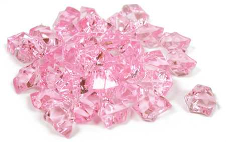 Pink Acrylic Ice Rock Gems Confetti Table Scatters Party Supplies Party Amp Special Occasions