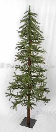 6 foot Alpine Skinny Tree Country Christmas Tree - Trees ...