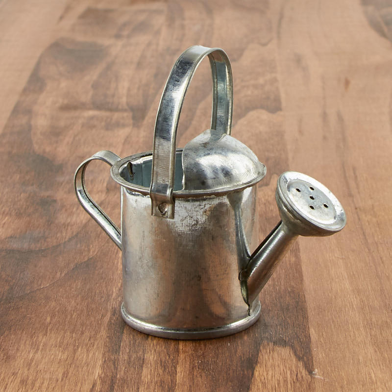 Small Galvanized Watering Can Doll Accessories Doll