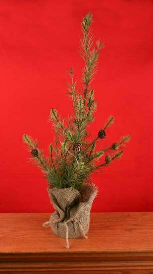 Primitive Artificial Christmas Trees